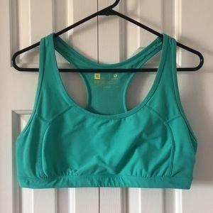 Xersion turquoise sports bra xl